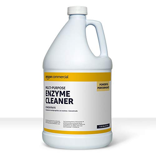 Best enzyme drain cleaner - AmazonCommercial Multi-Purpose Enzyme Cleaner, 1-Gallon, 1-Pack