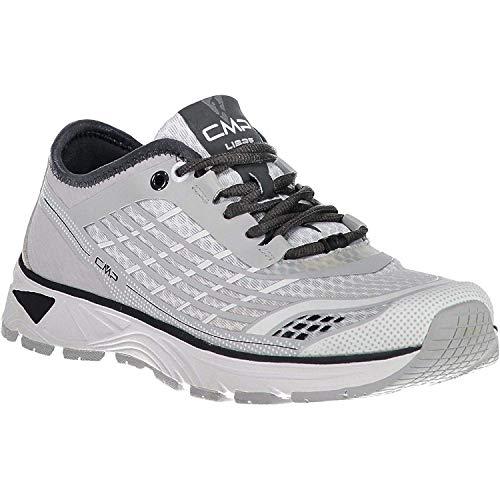 CMP Chaussures de Course Chaussures de Sport Libre WMN Courant Chaussures Gris Léger Plaine Mesh
