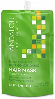 Andalou Naturals - Exotic Marula Oil Silky Smooth Deep Conditioning Hair Mask 166965