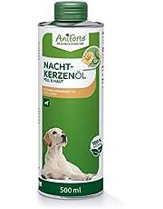 Aceite de onagra natural AniForte para perros 500ml - Suministro de ácidos grasos insaturados y saturados, Omega 6-9, Refuerza el bienestar, Envase reciclable sin BPA, Producto natural