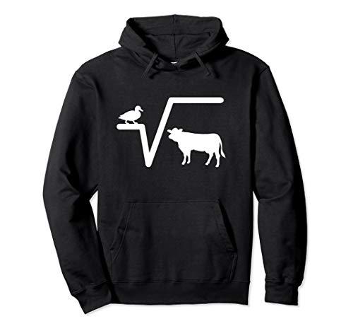 Ente Wurzel Kuh N-te Mathematik Lustig Spruch Geschenk Pullover Hoodie