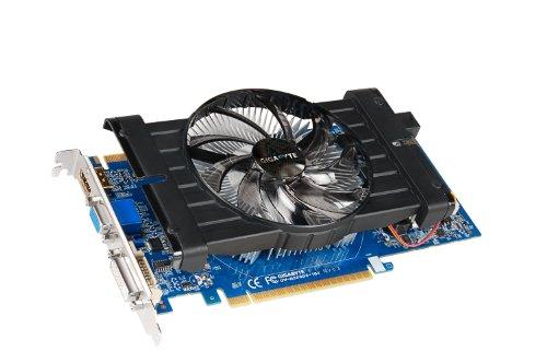 Gigabyte NVIDIA GeForce GTX 550 Ti Grafikkarte 1GB (PCI-e, GDDR5 Speicher, HDMI, DVI-I)