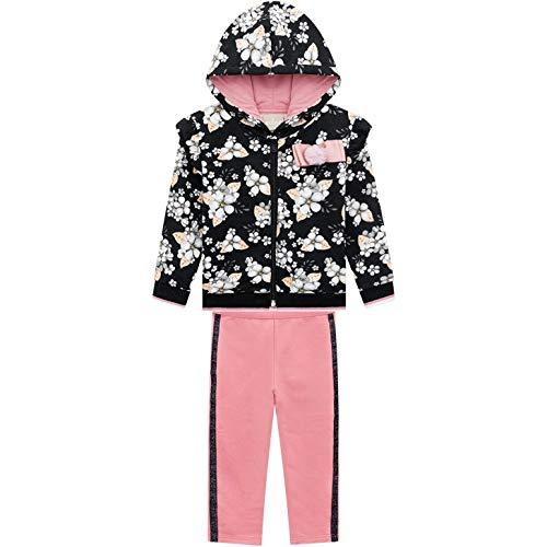 Conjunto Infantil Inverno Flores, 2 peças - Milon