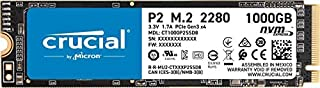 Crucial P2 1TB 3D NAND NVMe PCIe M.2 SSD, Up to 2400MBPS reading speed