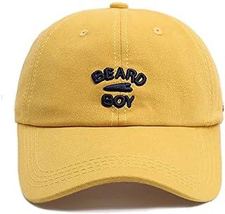 SXXYTCWL Chapeau Solaire Carte Jaune Casual Casque pic-Cache Mince Style Hommes et Femmes conviennent aux Chapeaux de Queu...