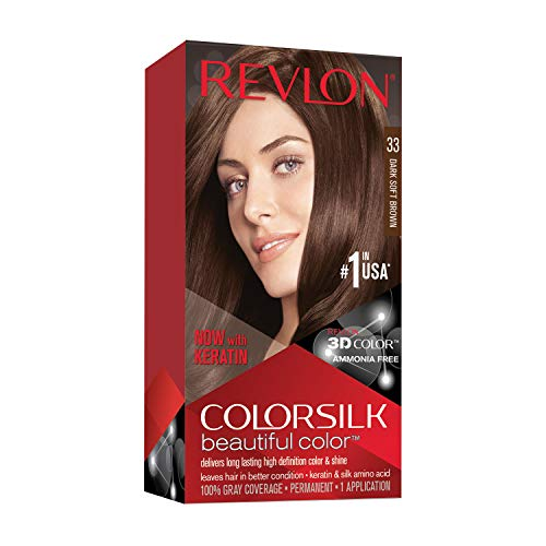 Revlon Colorsilk Haircolor #33 Dark Soft Brown 3WB (Haarfarbe)