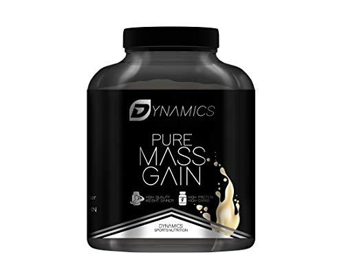 PURE MASS GAIN I Weight Gainer 3000g – Gewichtszunahme für dünne Männer und Frauen – ideal für Body-Builder & Hard-Gainer – made in Germany, Geschmack: Vanilla