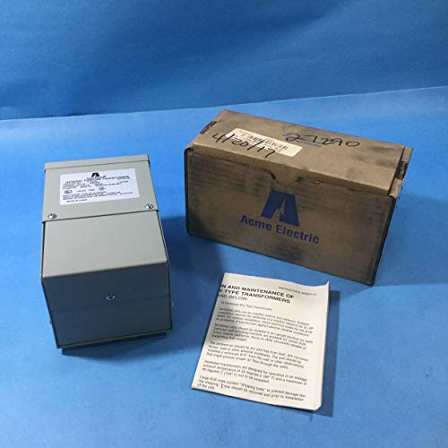 Acme Electric T153006 Transformer, 150VA, 1P, 240/480V, 120/240V, Isolation