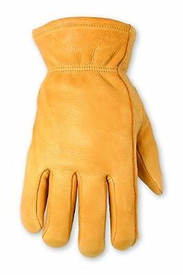 Custom Leathercraft Top Grain Deerskin Gloves