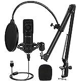 USB Microphone Kit 192KHZ/24BIT Plug & Play...