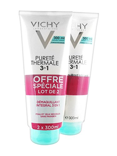 Vichy Pureté thermale démaquillant 3 en 1 duo 2x300ml