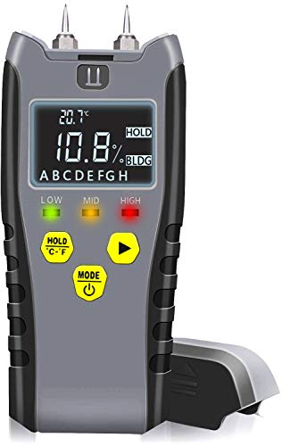 Digital Pin Type Moisture Meter by Eoutil