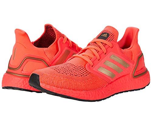 adidas Women's Ultraboost 20 Running Shoe, Signal Pink/Copper/Black, 9 B (M)