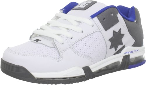 DC Shoes Herren Command Fx Sneakers, Blanc Wt Btl RYL, 7.5 EU
