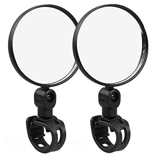 Fietsspiegel, Achteruitkijkspiegel Voor Fietsen, Mountainbike Spiegel | Gemakkelijk Te Bevestigen Aan Stuur | Achteruitkijkspiegel | Universeel | Voor Iedere Fiets