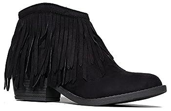 Best fringe heel boots Reviews