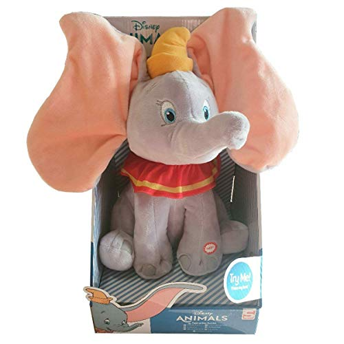 Disney Dumbo Interactive Plush 30 cm con Sonido y Movimiento (Peek a Boo)