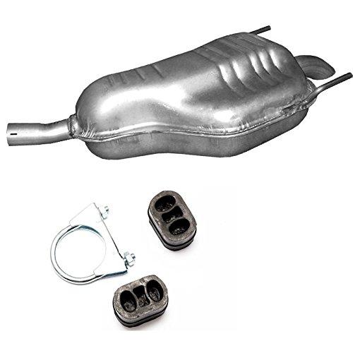 Auspuff Endschalldämpfer + Montageware Neuware (passend für das angegebene Fahrzeug ,siehe Artikelbeschreibung)