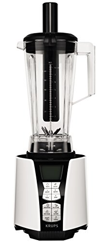 Batidora de vaso Krups Perfect Mix 9000, 2 l, 1500 W, color blanco/negro.