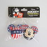 ディズニーアンテナボールUSA限定版(星条旗柄ミッキー)2種類のアンテナトッパーセットDisney Mickey Pride Antenna Topper
