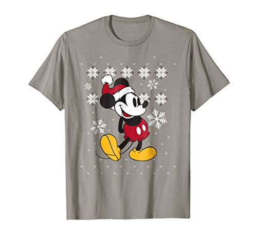 Disney Mickey Mouse Christmas Sweater Pose T Shirt