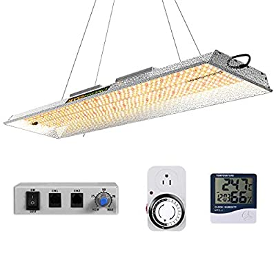 MARS HYDRO TSL 2000W Led Grow Light Daisy Chain Dimmable 2x4ft 3x5ft Full Spectrum Grow Light for Indoor Plants Veg Bloom Light with 684pcs LEDs Prosfessional Hydroponic Growing Lights for Greenhouse