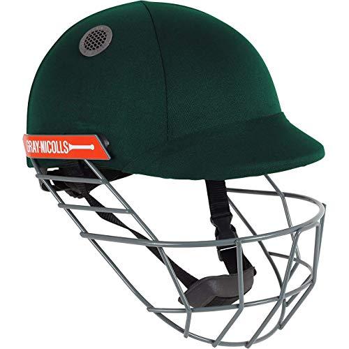 GRAY-NICOLLS Atomic Cricket-Helm, Grün, Jungen