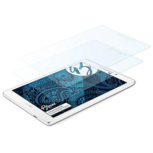 Bruni Schutzfolie kompatibel mit Asus ZenPad 7.0 Z370C Folie, glasklare Bildschirmschutzfolie (2X)