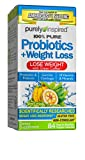 Womens Probiotic Weight Loss | Purely Inspired Probiotics for Women Weight Loss | Lactobacillus Supplement + Vitamins | Bloating Relief | Garcinia Cambogia Weight Loss Pills, 84 Ct (package may vary)