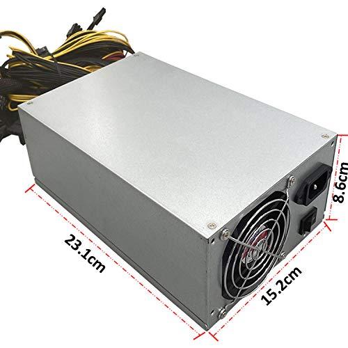 2000W Grafikkarte Mehrkanal-Netzteil, spezielles Netzteil für Bitcoin Be Quiet Netzteil Power Bergbau für ETH Rig Ethereum Bergmann, pc-netzteile mit Schutzschaltung Bitcoin-Mining Zubehör