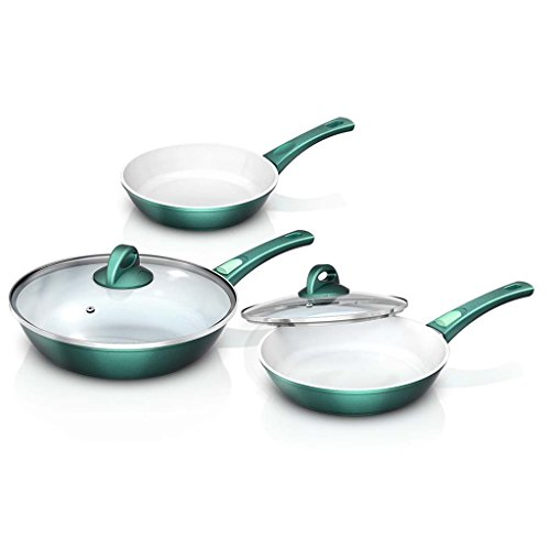 Cerafit Sartenes Cocina Ceramica Fusion 3331353 Verde