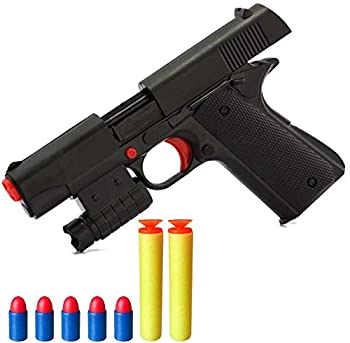 Toy Gun Realistic Kid Toy Gun 1 1 Scale Colt M1911A1 Rubber Bullet Pistol Mini Pistols