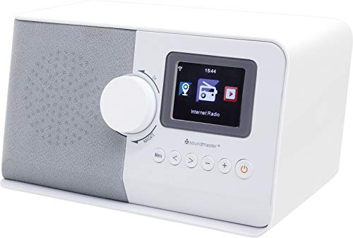 Soundmaster IR5500WE Internetradio Musik Netzwerkplayer mit Kopfhöhreranschluss