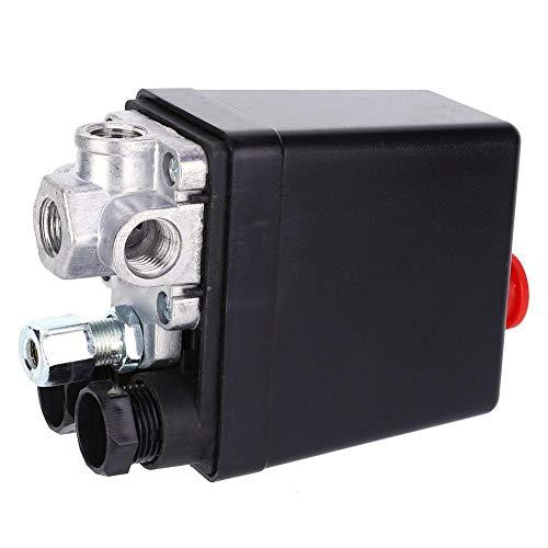 Herramienta neumática mecánica controlador de presión de aire regulador de gas modo de accionamiento eléctrico Interruptor de presión parado automático para tubería de gas