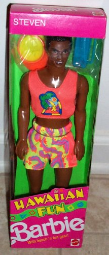 1990 Hawaiian Fun Steven Ethnic Barbie Doll Item #5945 by Barbie