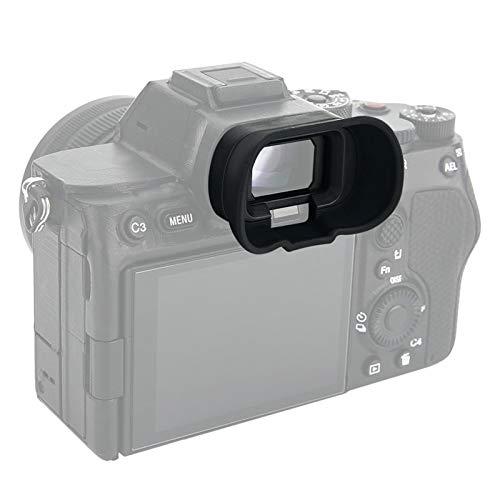 PROfezzion Ocular de silicona suave tipo extendido para Sony Alpha A1 A7SIII ILCE1 ILCE7SM3 cámara digital sin espejo de marco completo que reemplaza Sony FDA-EP19 Eyecup