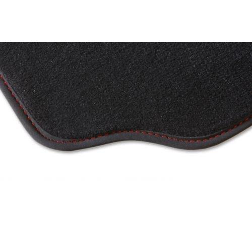 Alfombra para maletero CLK Coupe W209, 1 alfombrilla para maletero de color gris y rojo, de 06.02 a 02.09 a medida