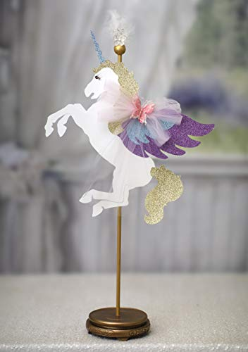 Unicornio centro de mesa unicornio cumpleaños unicornio fiesta unicornio decoraciones Pegasus cumpleaños Baby Shower primer cumpleaños personalizado