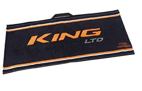 Cobra King LTD Golf-Handtuch, Schwarz