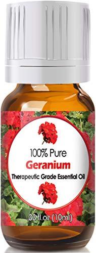 Geranium Essential Oil for Diffuser & Reed Diffusers (100% Pure Essential Oil) 10ml
