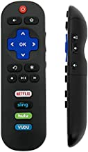RC280 Replacement Remote Applicable for TCL Roku TV with Netflix Sling Hulu Vudu Key 55UP120 32S4610R 50FS3750 32FS3700 32FS4610R 32S800 32S850 32S3850 48FS3700 55FS3700 65S405 43S405 49S405 40S3800