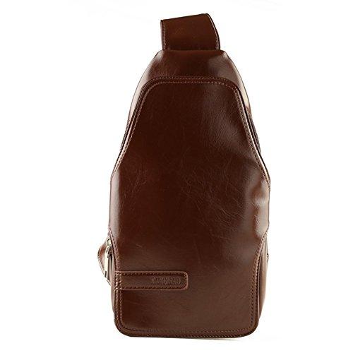Sincere® messenger bag-sac brun Loisirs Messenger / sports de plein air sac poitrine / Student Sac à dos / hommes