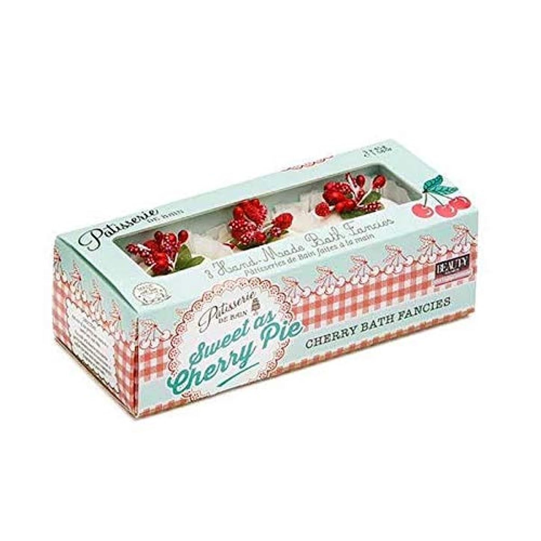 あいまいさトレースペパーミント[Patisserie de Bain ] チェリーパイ風呂メルト45グラムのように甘いパティスリー?ド?ベイン - Patisserie de Bain Sweet as Cherry Pie Bath Melt 45g [並行輸入品]