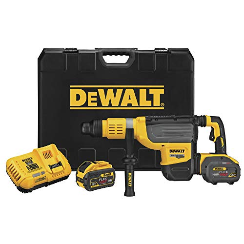 DEWALT DCH773Y2 60V MAX 2 in. Brushless Cordless SDS MAX Combination Rotary Hammer Kit