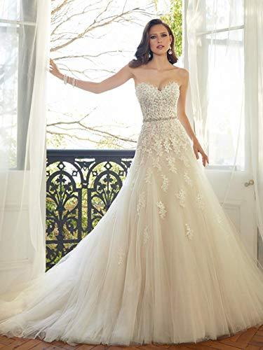 Vestido de Novia Vestido de Novia Vestido de Dama de Honor Escote...