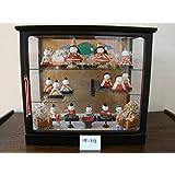 木目込み雛人形昭和レトロ人形日本製日本人形(1B-313)年中行事市松人形伝統芸能蔵出し骨董JAPAN