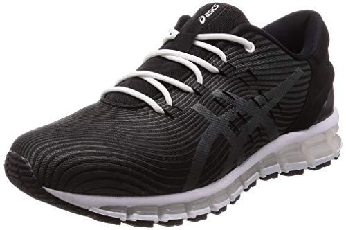 Asics Gel-Quantum 360 4, Chaussure de Course Mixte Adulte, Negro/Gris Oscuro, 41.5 EU