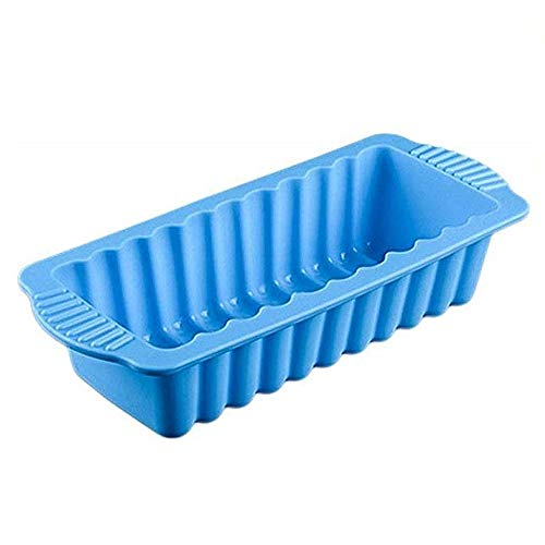 New 3D Silicone Toast Bread Mold for Chiffon Sponge Cake Mould Bakery Brownie Cake Pan Rectangular Shape Bakeware Baking Tools