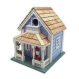 Home Bazaar HB-9520S Orleans Cottage Birdhouse, Blue
