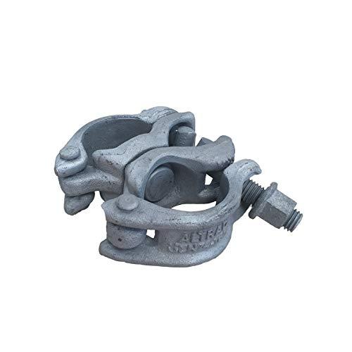 Gerüstkupplung Kupplung drehbar für Gerüst 48/48mm Drehkupplung für Baugerüste Fassadengerüst